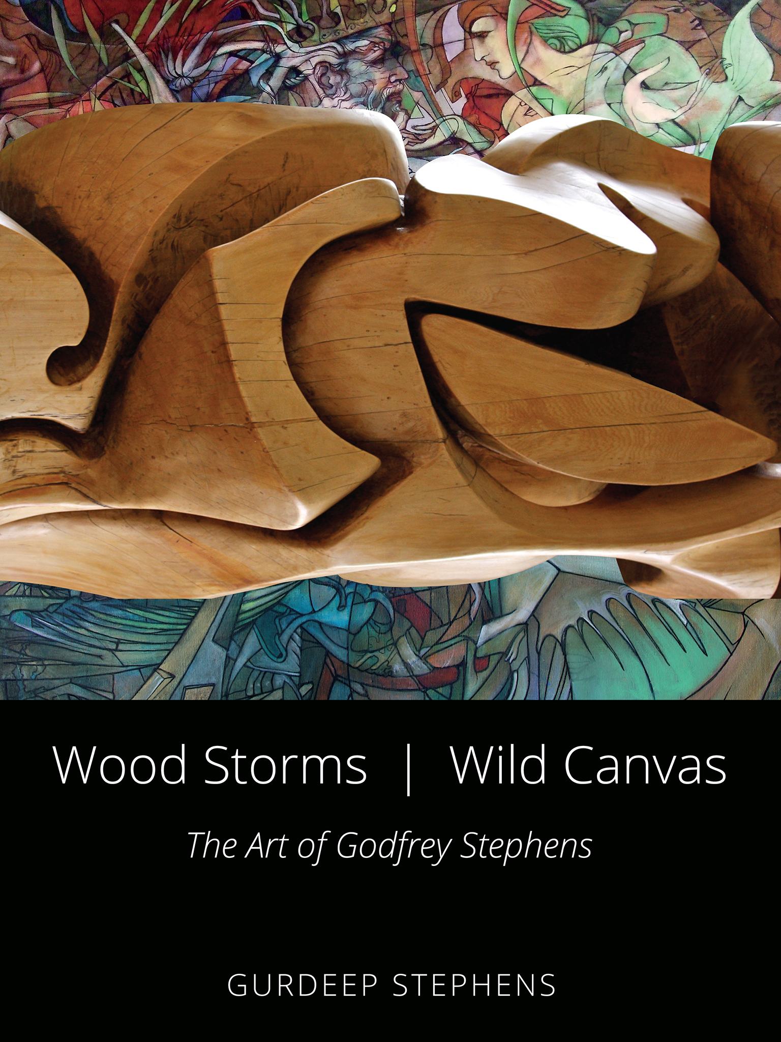 Wood Storms Wild Canvas